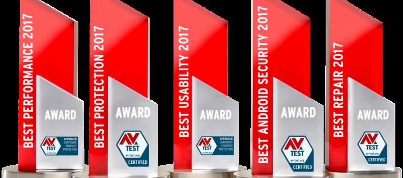 F-Secure спечели наградата Best Protection на AV-Test за ПЕТИ ПЪТ